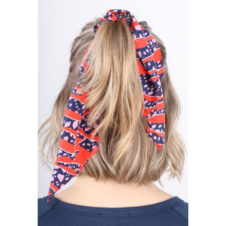 Mercy Delta Printed Scrunchie - Multicoloured