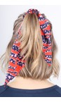 Mercy Delta Tiger Shark Wild Printed Scrunchie
