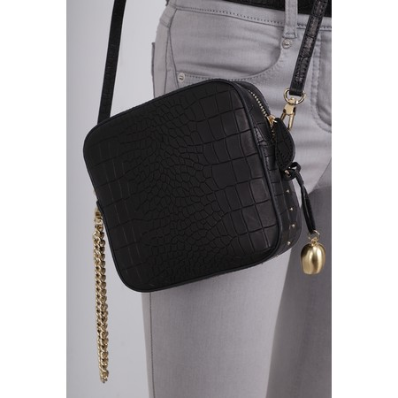 Bell & Fox Marlo Mini Square Bag - Black