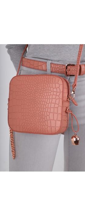 Bell & Fox Marlo Mini Square Bag Terracotta