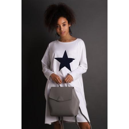 Chalk Brody Star Dress - White