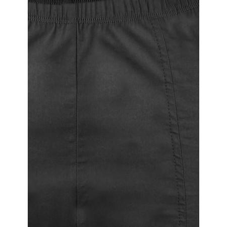 Foil Trapeze 7/8 Front Seam Pant - Black