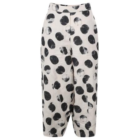 Foil Broadening Horizons Linen Trousers - Beige