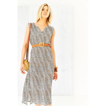Adini Faith Maxi Dress - Beige