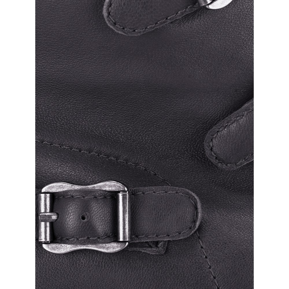 Ash Virgin Graphite Leather Trainers Graphite
