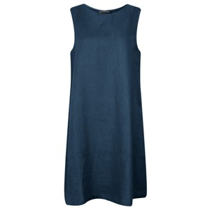 Chalk Jane Linen Dress