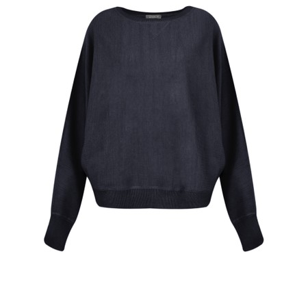Chalk Betty Supersoft Knit Jumper - Blue