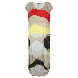 Crea Concept Abstract Print Dress