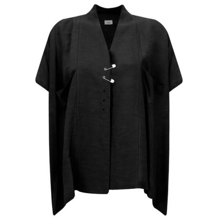 Crea Concept Safety Pin A-shape Jacket - Black