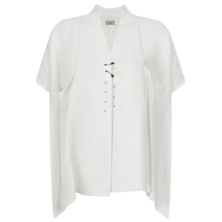 Crea Concept Safety Pin A-shape Jacket - White