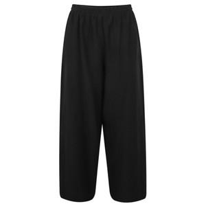 Crea Concept Wide Leg Linen Blend Trousers