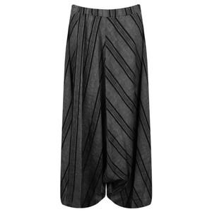 Crea Concept Asymmetric Harem Striped Trouser