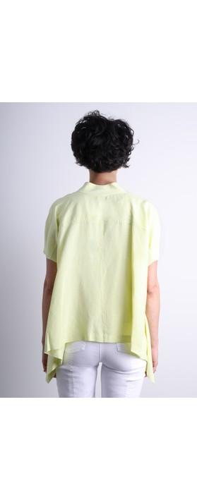 Crea Concept Safety Pin A-shape Jacket Lime