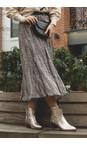 Adini Mink Blair Printed Midi Skirt