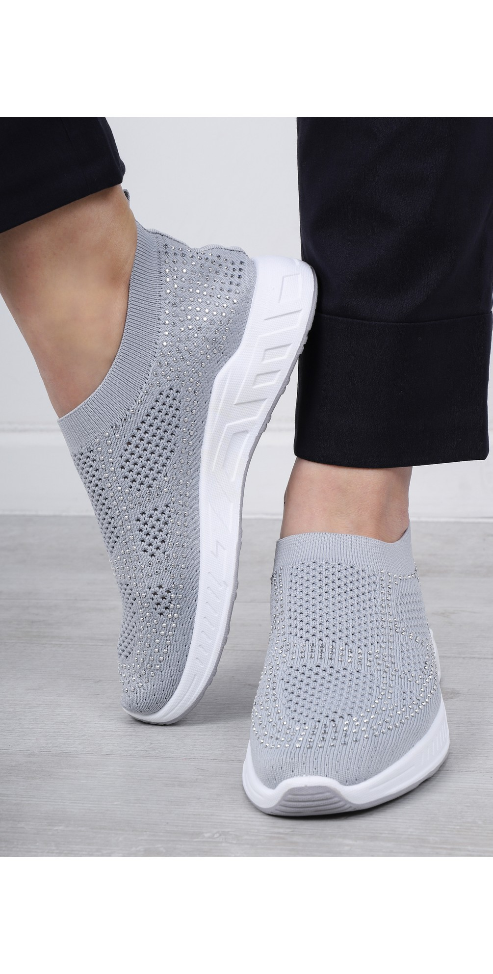 Malmo Knitted Trainer Shoe main image