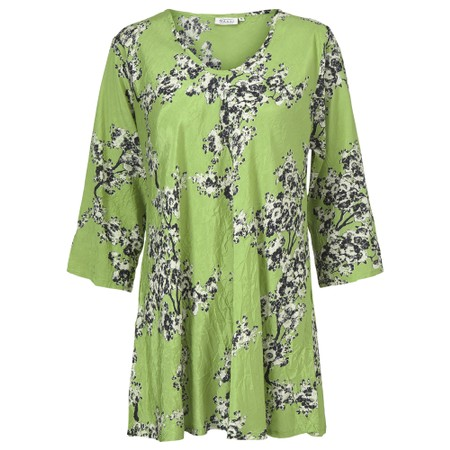Masai Clothing Kata Floral Top - Green