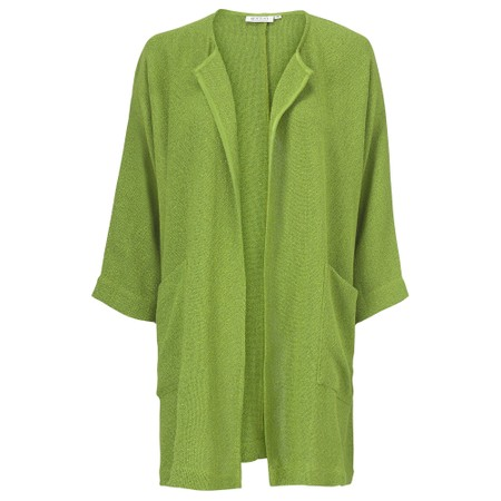 Masai Clothing Jarmis Boucle Jacket - Green