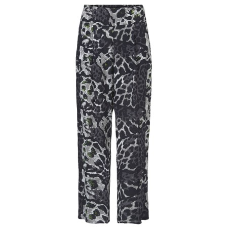 Masai Clothing Pai Animal Print Trousers - Green