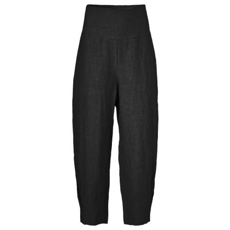 Masai Clothing Pen Linen Culottes - Black