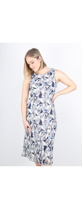 Adini Siri Dress Royal Blue