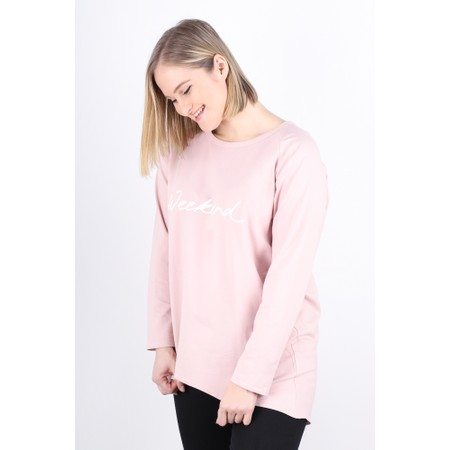 Chalk Robyn Weekend Top - Pink