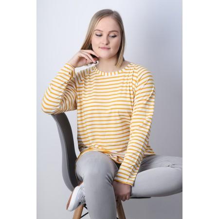 Chalk Robyn Stripe Top - Yellow