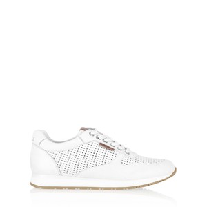 Carmela Tabby Leather Trainer Shoe