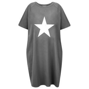 Chalk Linda Star Dress