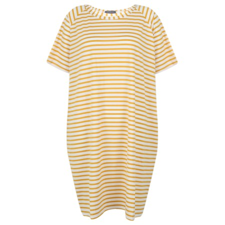 Chalk Linda Stripe Dress - Yellow