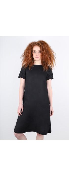 Masai Clothing Nalani Linen Dress Black