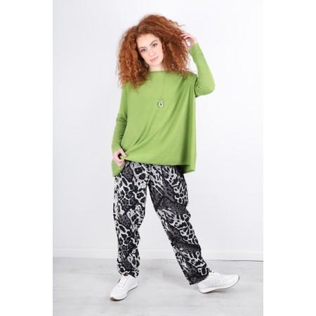 Masai Clothing Pai Animal Print Trousers - Green