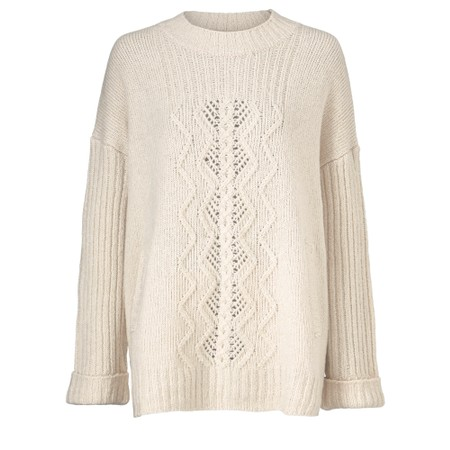 Masai Clothing Farida Jumper - Off-White