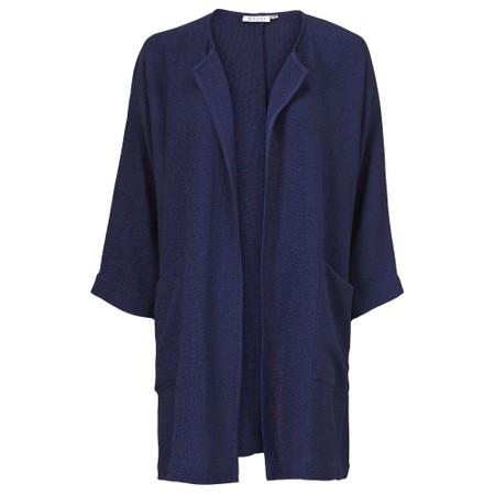 Masai Clothing Jarmis Boucle Jacket - Blue