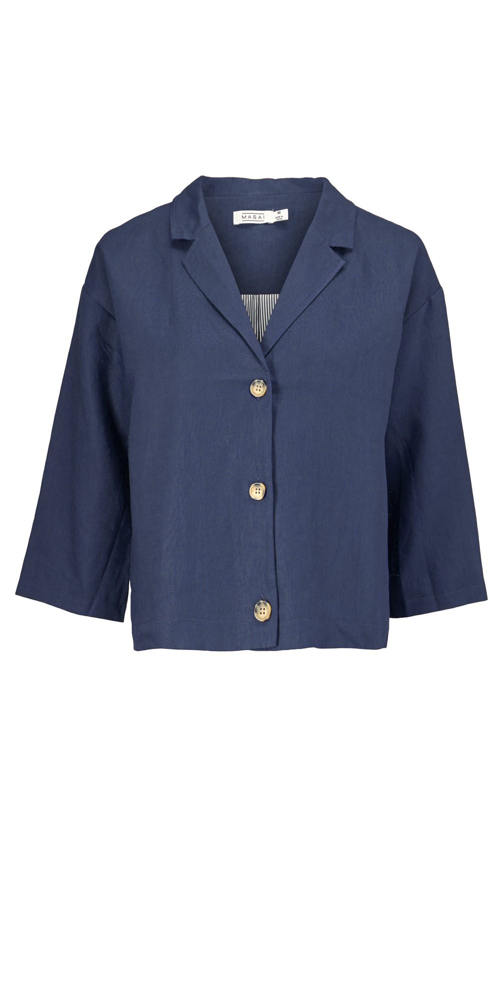 Jade Linen Jacket main image