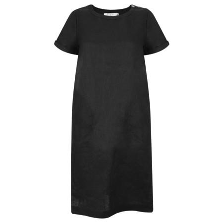 Masai Clothing Nalani Linen Dress - Black