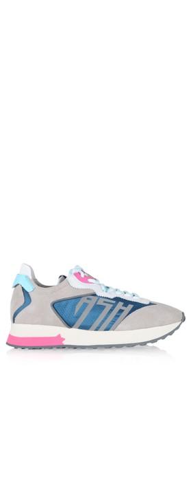 Ash Tiger Trainer Shoe Dove / Azur