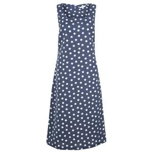 Adini Roxy Spot Linen Dress