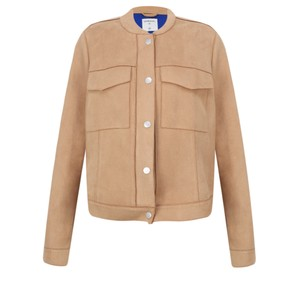 Sandwich Clothing Faux Suede Short Jacket