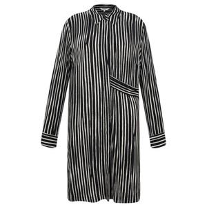 Sandwich Clothing Long Sleeve Stripe Tunic Blouse