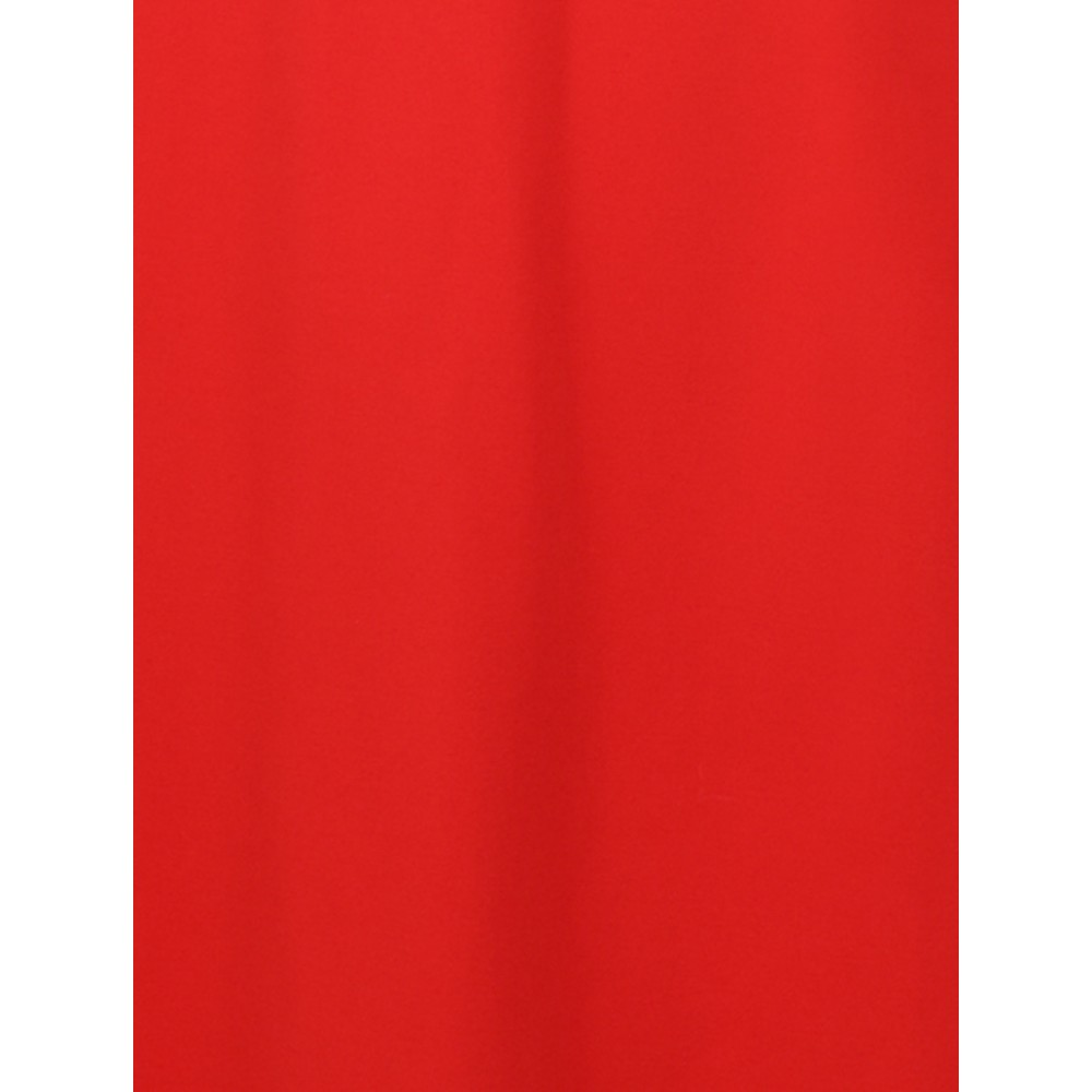 Sandwich Clothing Fitted V-Neck Dress Red