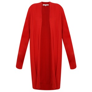Sandwich Clothing Essential Open Front  Cardigan