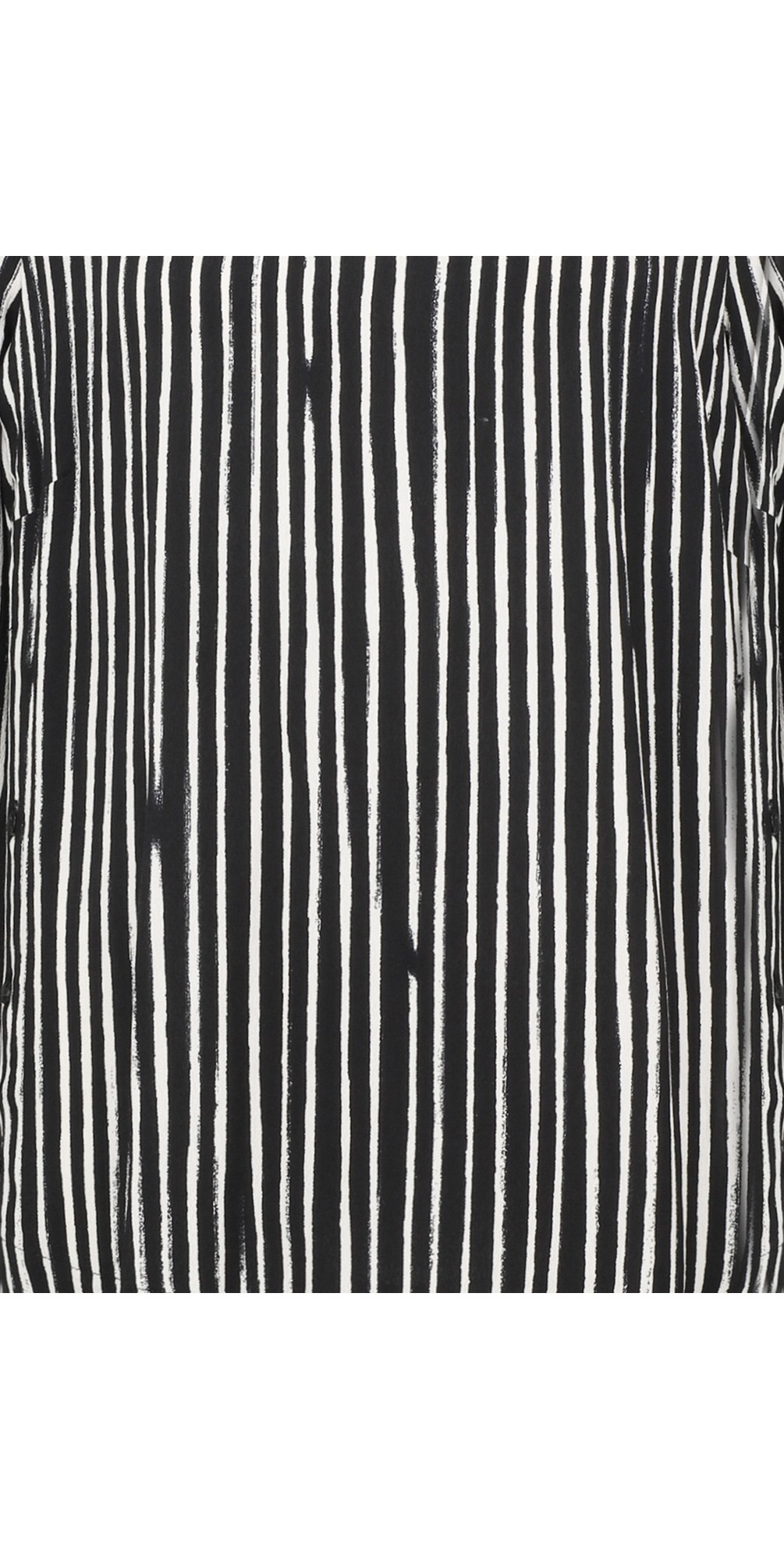 Painted Stripe Print Blouse main image