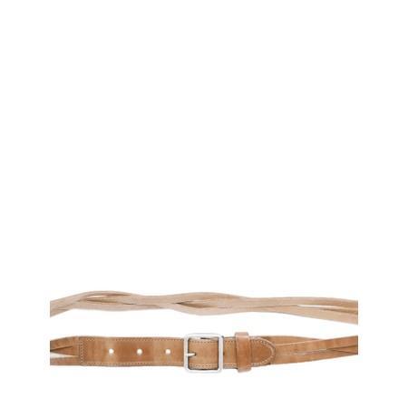 Sandwich Clothing Woven Belt - Brown