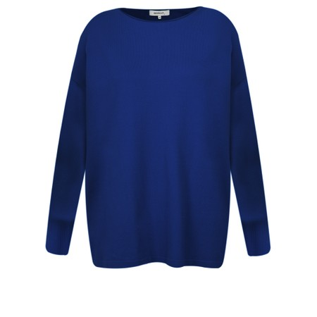Sandwich Clothing Relaxed Knit Jumper - Blue