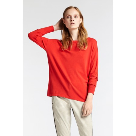 Sandwich Clothing Relaxed Knit Jumper - Red