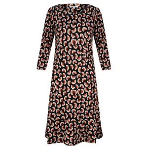 Sandwich Clothing Floral Print Fit and Flare Dress