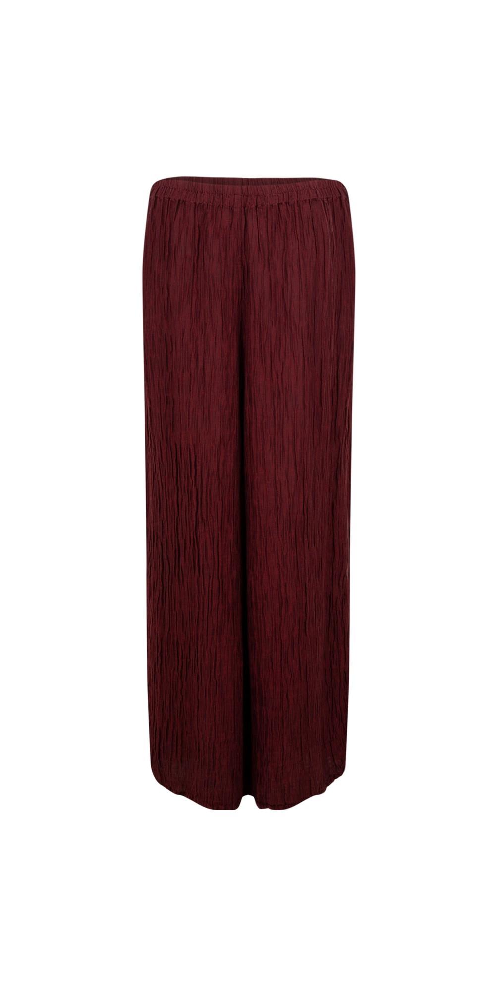Gvidas Silk Crinkle Wide Leg Cullotte Trousers main image