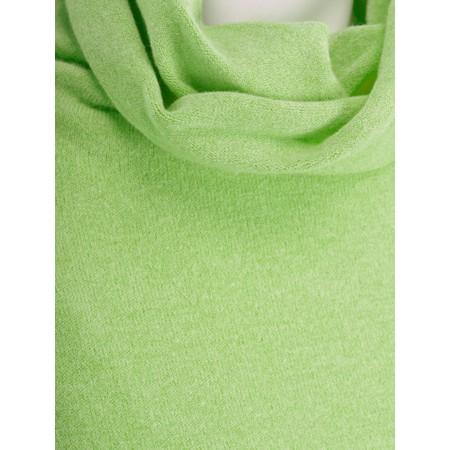 Fenella  Nina Supersoft Roll Neck Jumper  - Green