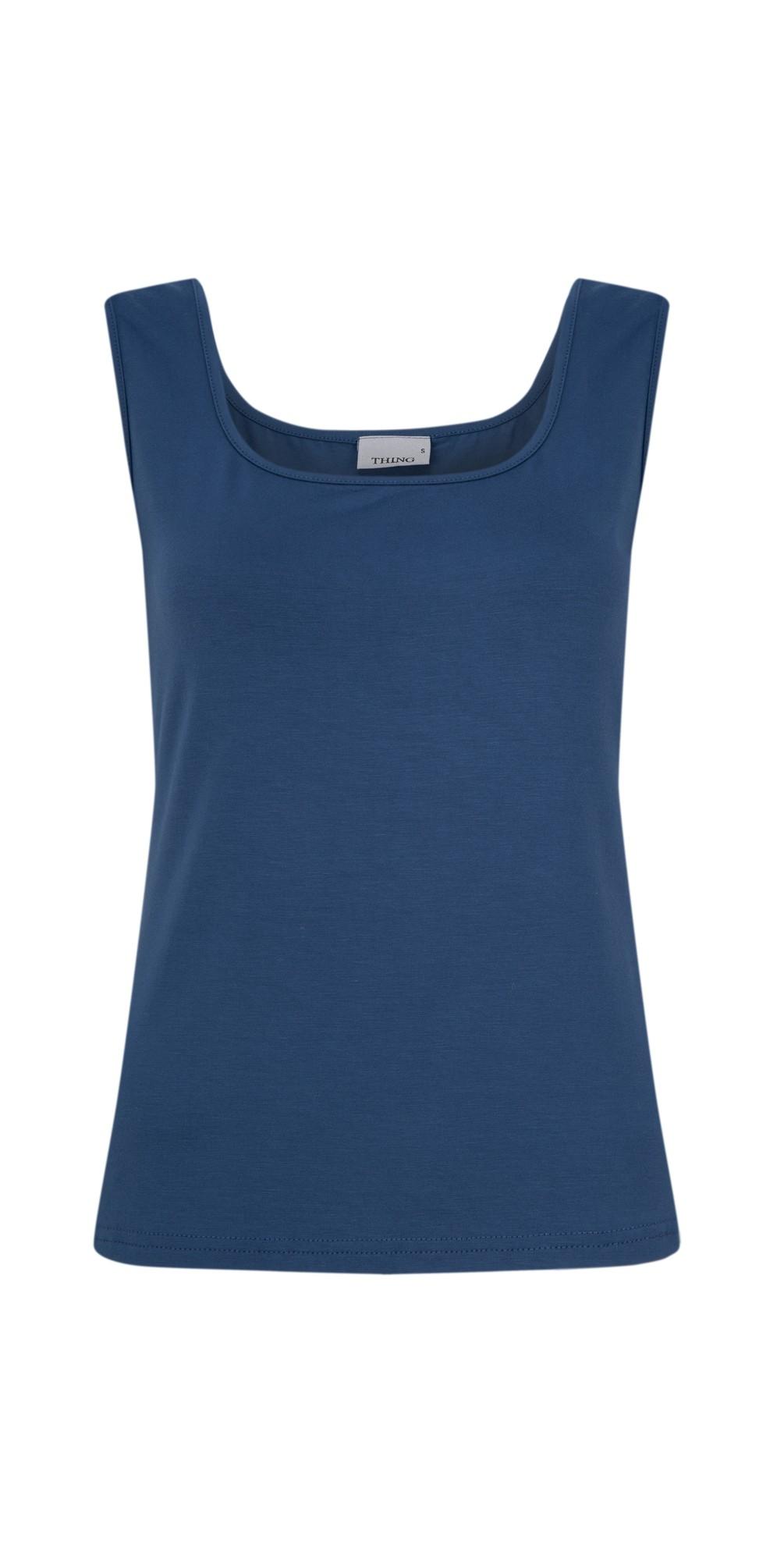 Square Neck Bamboo Sleeveless T-Shirt main image