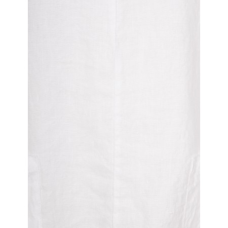 Thing 3QS 2 Pocket Tunic - White